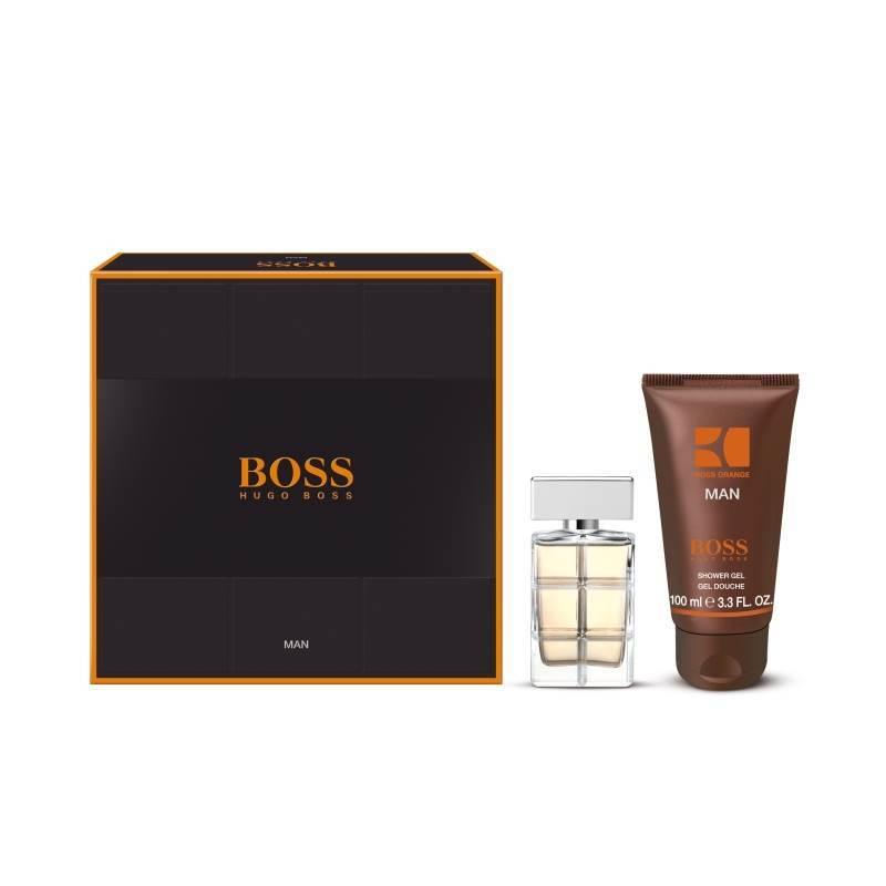 hugo boss boss orange man eau de toilette 40ml gift set. Black Bedroom Furniture Sets. Home Design Ideas