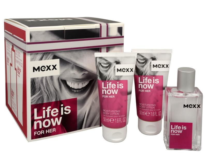 Mexx Life Is Now Eau De Toilette 50ml Gift Set - L