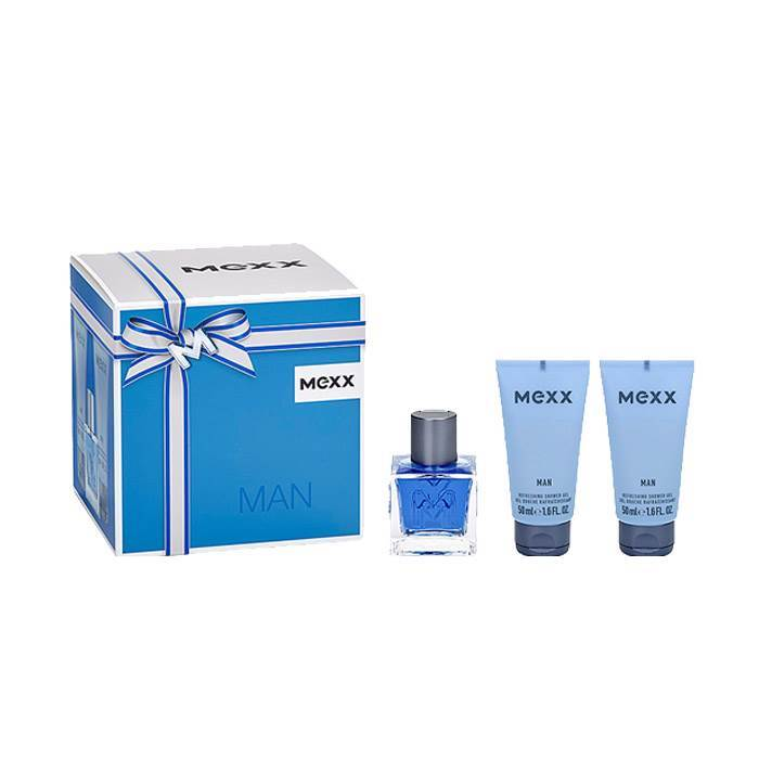 Mexx Man Eau De Toilette 50ml Gift Set - Bvlgari M